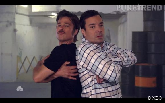 Brad Pitt et Jimmy Fallon l'interview la plus délirante de l'année ?