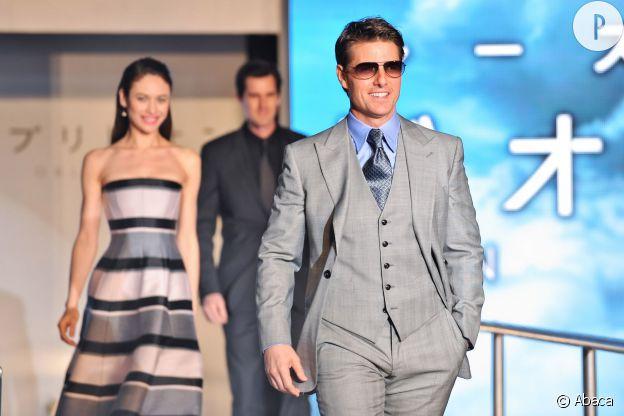 """Tom Cruise a été très occupé avec la promotion de """"Oblivion"""", mais on espère qu'avant celle de """"Edge of Tomorrow""""."""