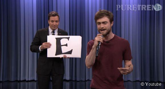 Daniel Radcliffe dévoile au monde son talent caché.