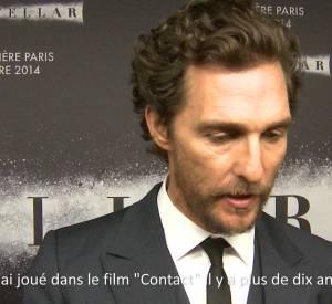 Interstellar : rencontre avec Matthew McConaughey et Christopher Nolan.