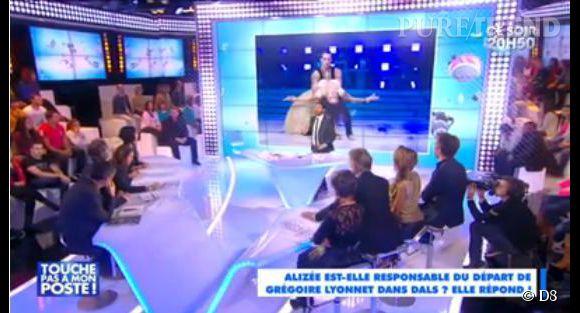 """Alizée revient sur l'abandon de Grégoire Lyonnet de """"DALS 5""""."""