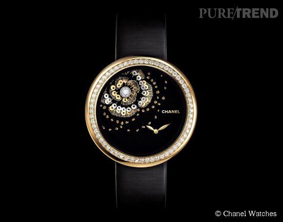 La montre Mademoiselle Privé de Chanel.