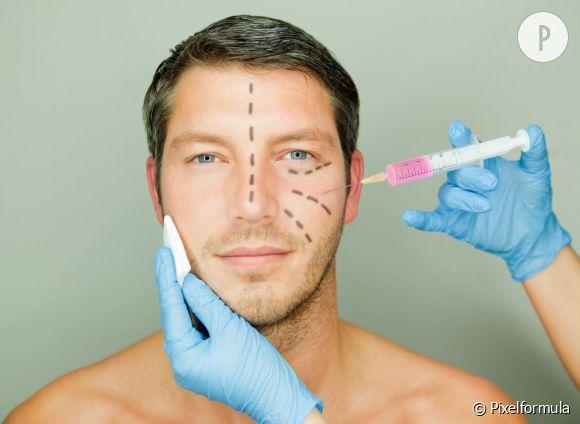 La chirurgie esthétique n'est pas l'apanage des femmes, les hommes en sont de plus en plus friands.