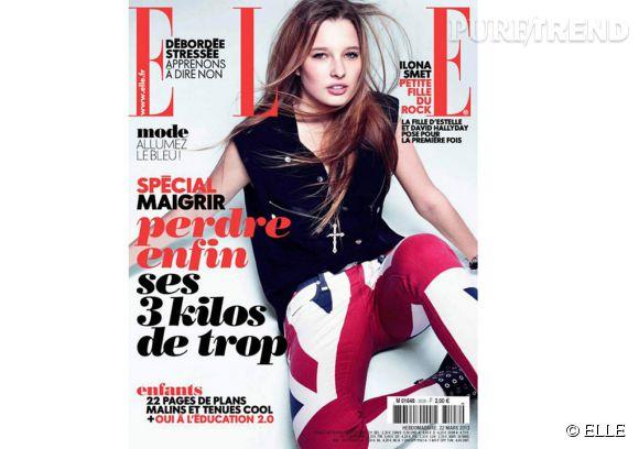 En mars 2013 et à seulement 17 ans, Ilona Smet faisait la couverture du magazine  ELLE .