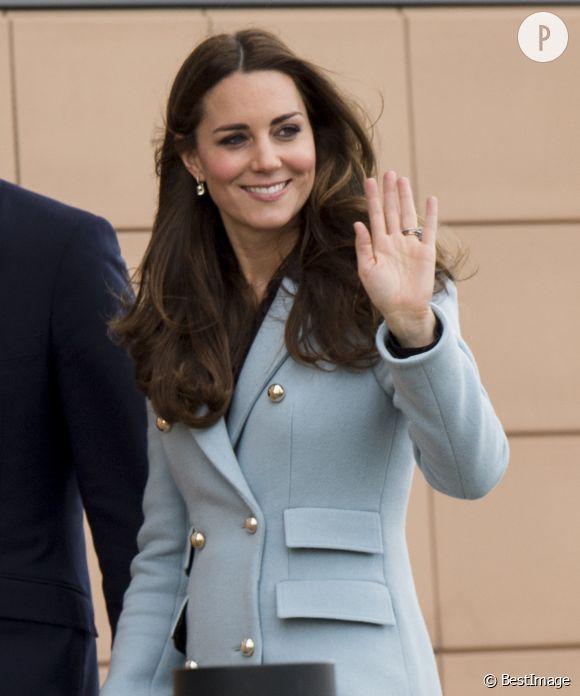 Kate Middleton a été dépeinte entièrement nue dans les rues de Londres.