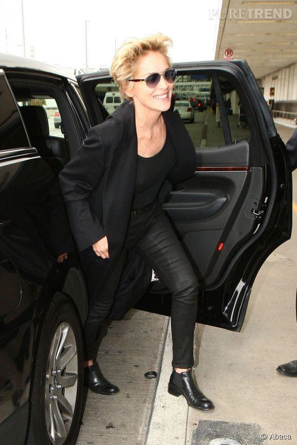 Sharon Stone, la nouvelle femme à lunettes d'Alain Afflelou.