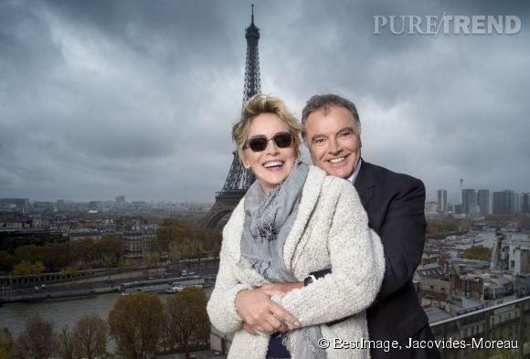 Sharon Stone, la nouvelle (et super) égérie des lunettes Alain Afflelou.