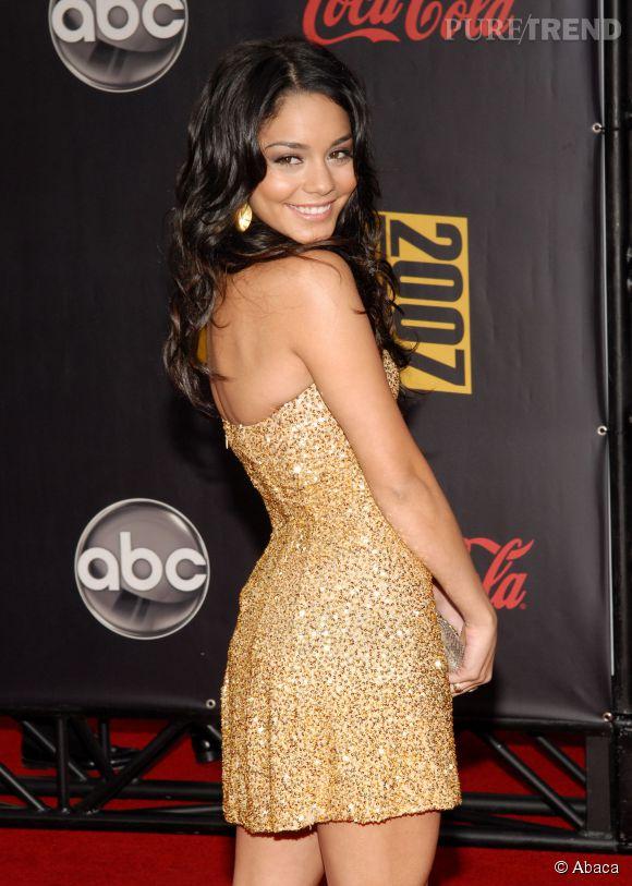 Vanessa Hudgens à 18 ans, aux American Music Awards 2007.