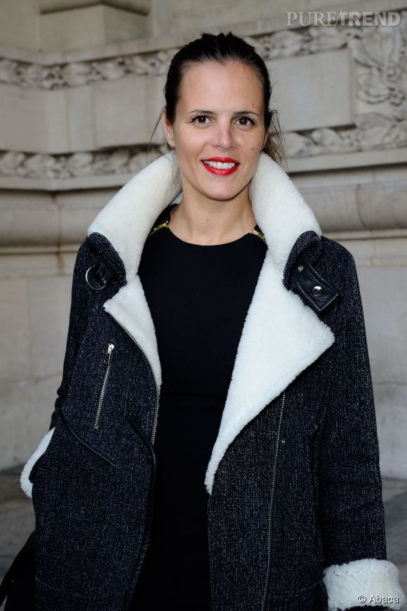 L'ancienne nageuse Laure Manaudou, membre du jury de l'élection Miss France 2015.