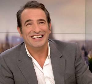 """Jean Dujardin présente son nouveau film """"La French"""" sur le plateau du JT de France 2 ce dimanche 30 novembre 2014."""