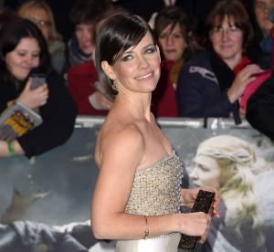 Evangeline Lilly, une elfe en soie et perles à Londres