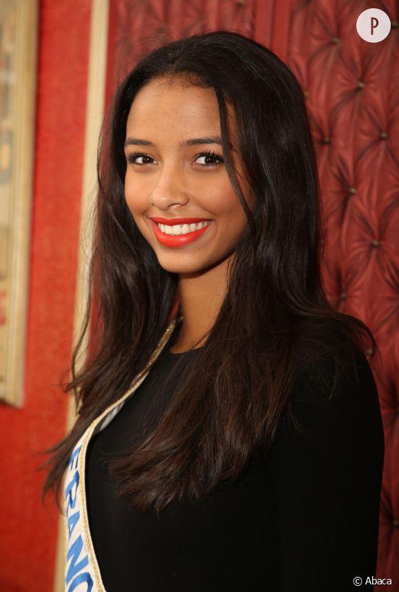 Flora Coquerel savoure les derniers instants de son règne de Miss France.