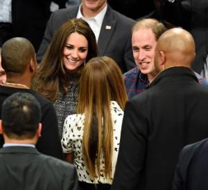 Le duc et la duchesse de Cambridge rencontre le roi et le reine de New York, Beyoncé et Jay-Z.