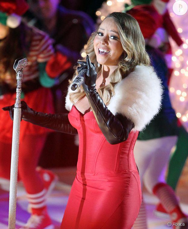 Mariah Carey mère Noël sexy.