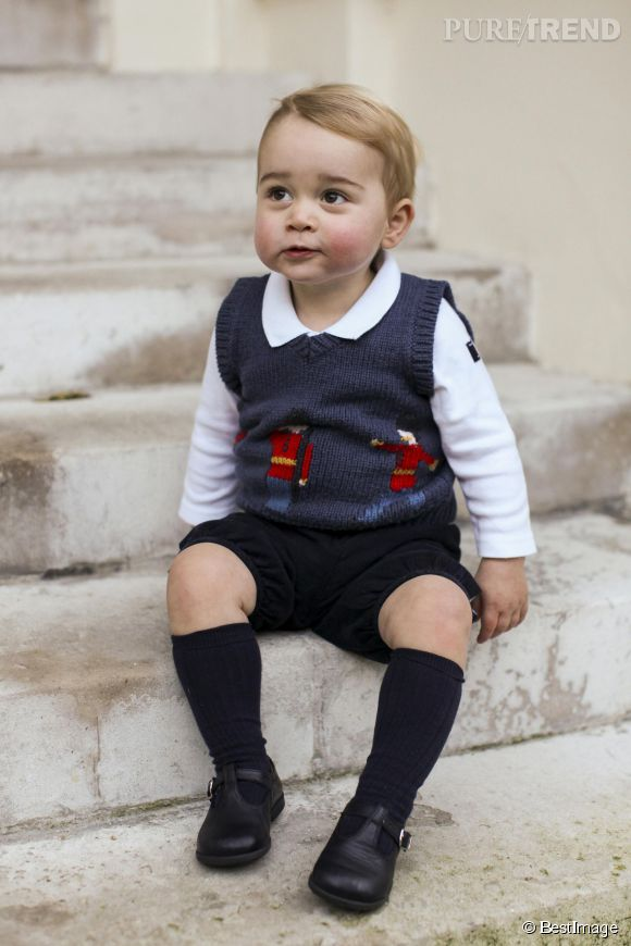 Les nouveaux portraits craquants du prince George.