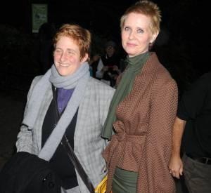 Cynthia Nixon et Christine Marinoni