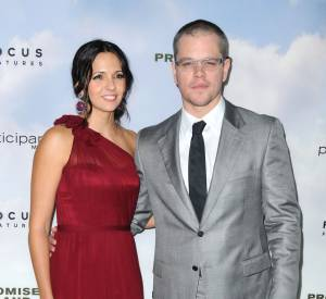 Matt Damon et Luciana Damon