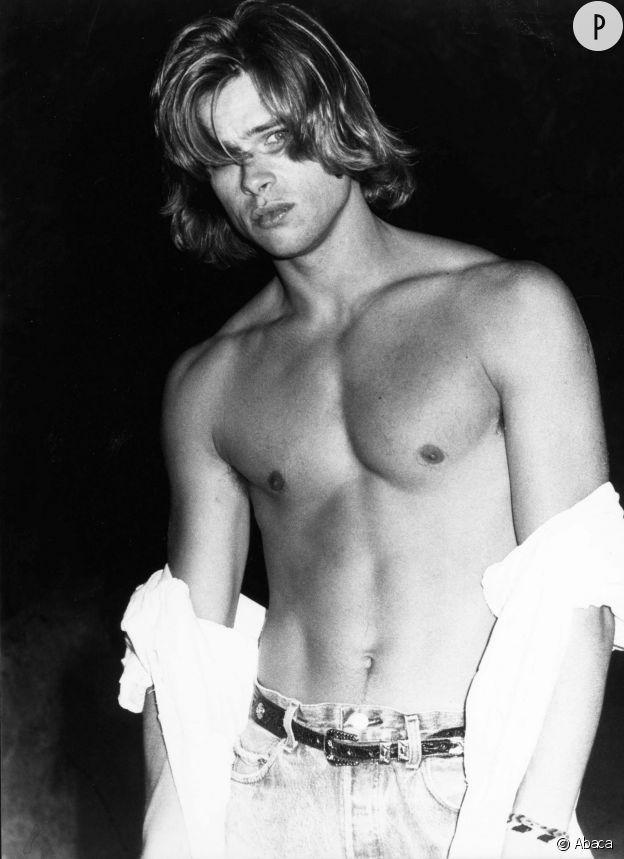Brad Pitt en 1988.