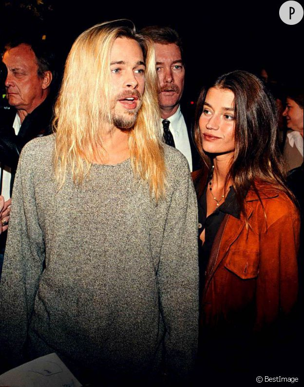 Brad Pitt et sa petite amie de l'époque en 1994.
