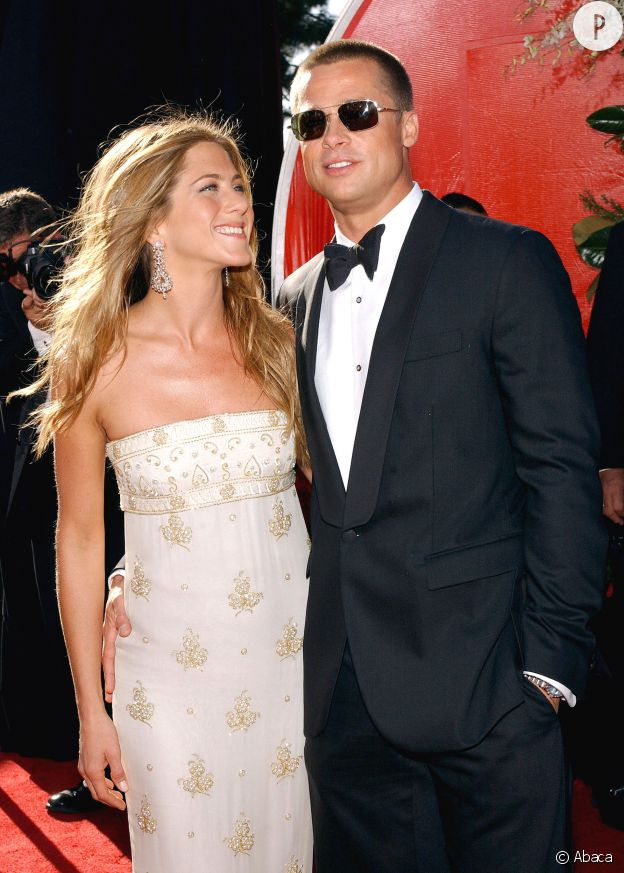Brad Pitt et Jennifer Aniston.