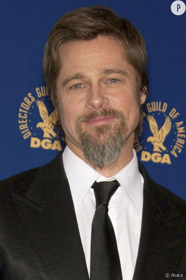 Brad Pitt et sa barbichette.