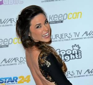 Lauriers TV Awards : Capucine Anav révèle un dos nu très élégant.