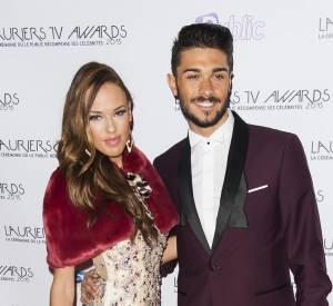 Lauriers TV Awards : Vanessa Lawrens et Julien Guirado, un des couples phares de la téléréalité, tout en élégance sur le red carpet.