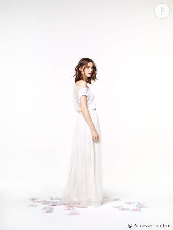 """""""Love like a Princesse"""" : la nouvelle collection capsule spéciale mariage de Princesse Tam Tam qui propose un tenue alternative à la robe de mariée traditionnelle et qui en ravira plus d'une !"""