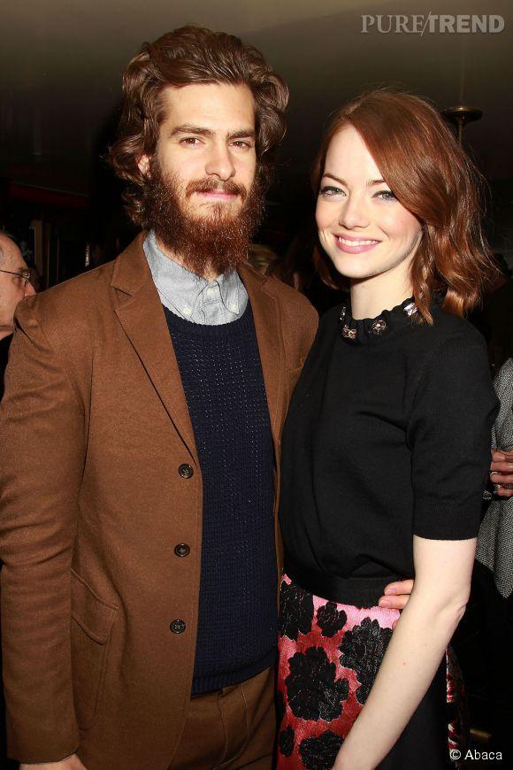 Andrew Garfield et Emma Stone.