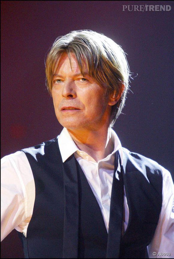 David Bowie pendant la tournée Reality en 2003.