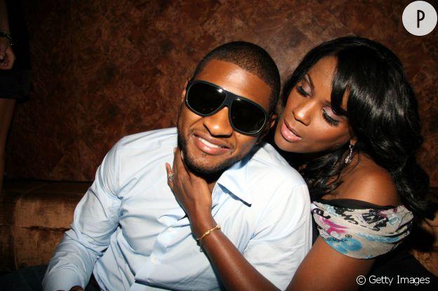 Usher et Tameka Raymond.