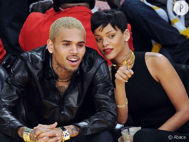 Chris Brown et Rihanna.