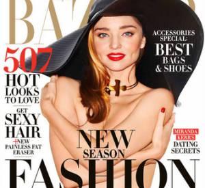 C'est dans les pages du magazine Harper's Bazaar que la belle Miranda Kerr se livre et tient à dire qu'elle ne souhaite pas se recaser de sitôt...