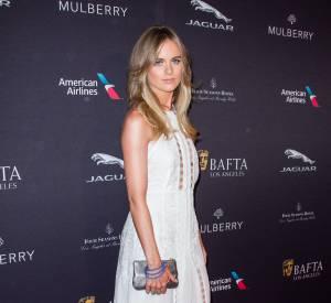 Cressida Bonas invitée à la tea party des BAFTA à Los Angeles le 10 janvier 2015.