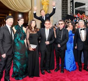 Le groupe U2 avait été victime d'un photobomb de Benedict Cumberbatch lors des Oscars 2014.