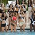 Les potentielles Miss Univers 2014 en bikini.