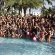 Les candidates de Miss Univers 2014 s'éclatent à Miami.