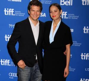 Marion Cotillard et Guillaume Canet, ici au festival de Toronto 2013.
