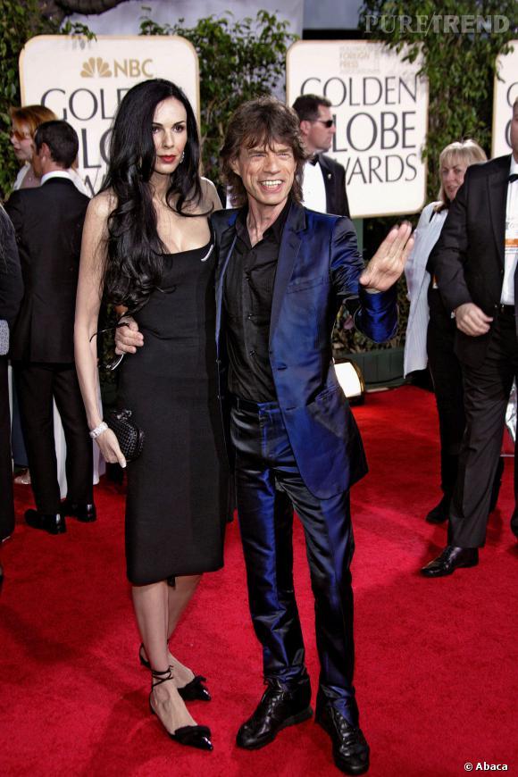 Mick Jagger et L'Wren Scott ont été en couple pendant plus de dix ans.