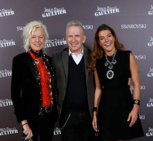 Swarovski et Jean Paul Gaultier présentent leur nouvelle création à Paris
