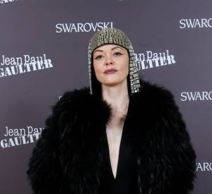 Rose McGowan au cocktail Kaputt par Jean Paul Gaultier et Swarovski le 28 janvier 2015 à Paris.