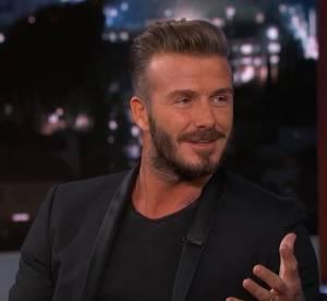"""David Beckham : un papa """"joufflu"""" qui colle la honte à ses enfants"""