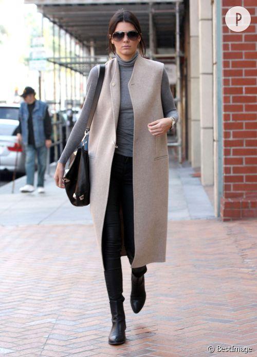 Kendall Jenner, la leçon de mode.