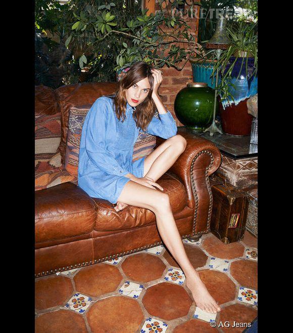 Alexa Chung pour AG Jeans
