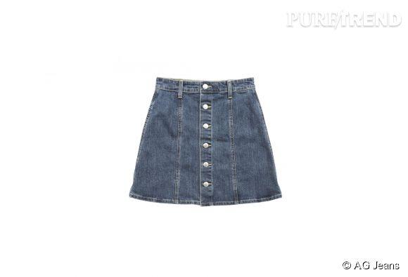 Jupe Alexa Chung pour AG Jeans, 278,70€.