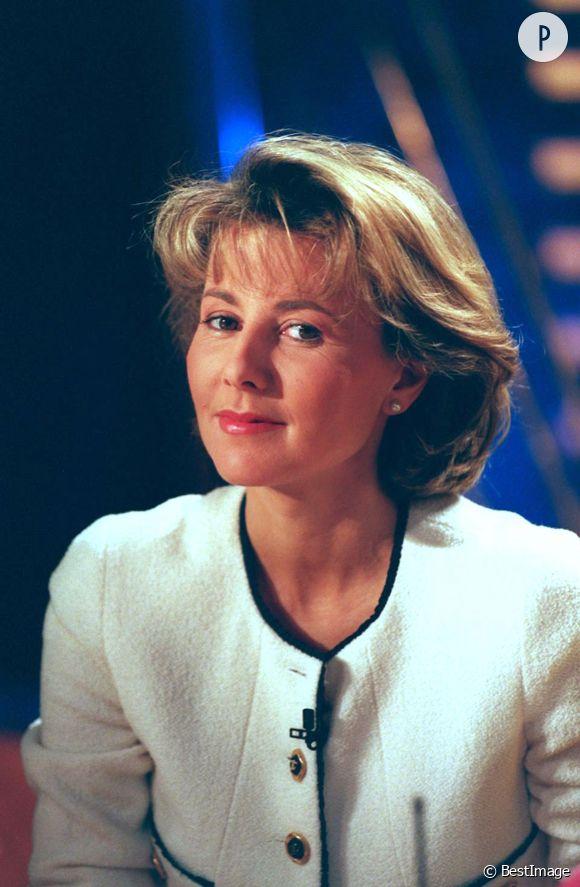 Claire Chazal, à l'antenne de TF1 depuis 1991.
