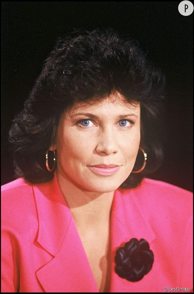 """Anne Sinclair a animé le magazine """"7 sur 7"""" de 1984 à 1997."""