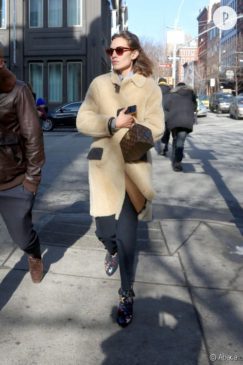 Alexa Chung, une allure à tomber à New York.