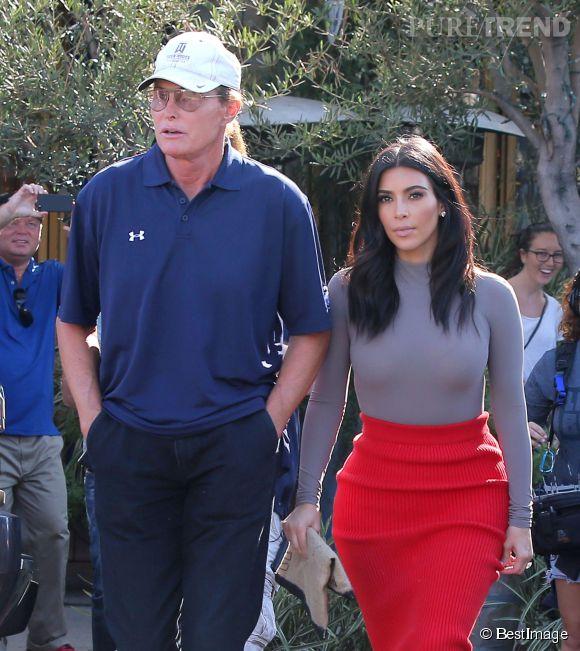 Bruce Jenner est resté proche de Kim Kardashian depuis qu'il a divorcé de la maman de la star.