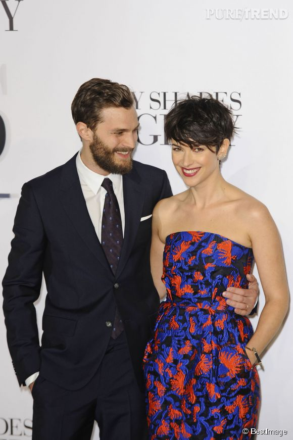 Jamie Dornan et sa femme Amelia Warner.